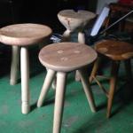 hand made stools