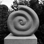 Spiral Square Sculpture